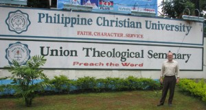 Ken Martin at Union Theological Philippines Campus