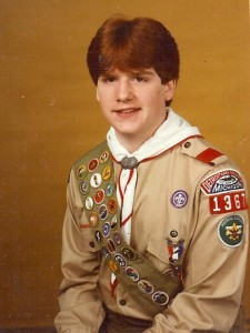 Bryan Parker, Eagle Scout and MCC Governing Board member.