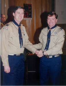 John E. Plumadore, Retired Scout Executive and MCC Toronto member