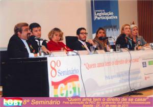 Rev. Marcio Retamero speaking to the Argentine National Congress