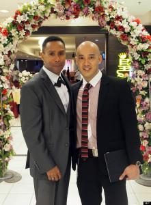MCC Pastor, Ngeo Boon Lin, celebrates first qay wedding reception in Malaysia.