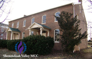 Shenandoah Valley MCC building and logo