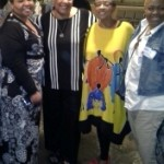 Georgia Lacy, Rev. Candy Holmes, Bishop Yvette Flunder, Debbie Brown