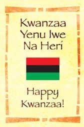 kwanzaa Yenu Iwe Na Heri