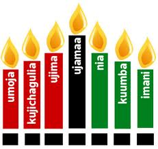 kwanzaa candle graphic