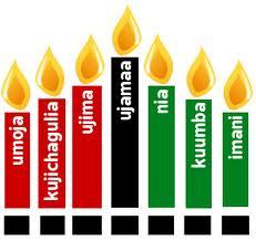 kwanzaa candle graphic
