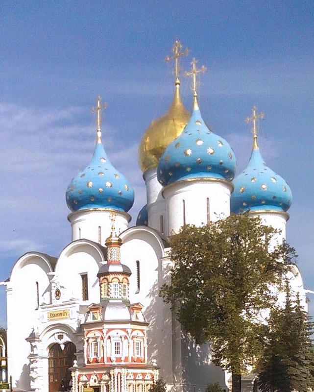 The-Trinity-Sergeyeva-Monastery