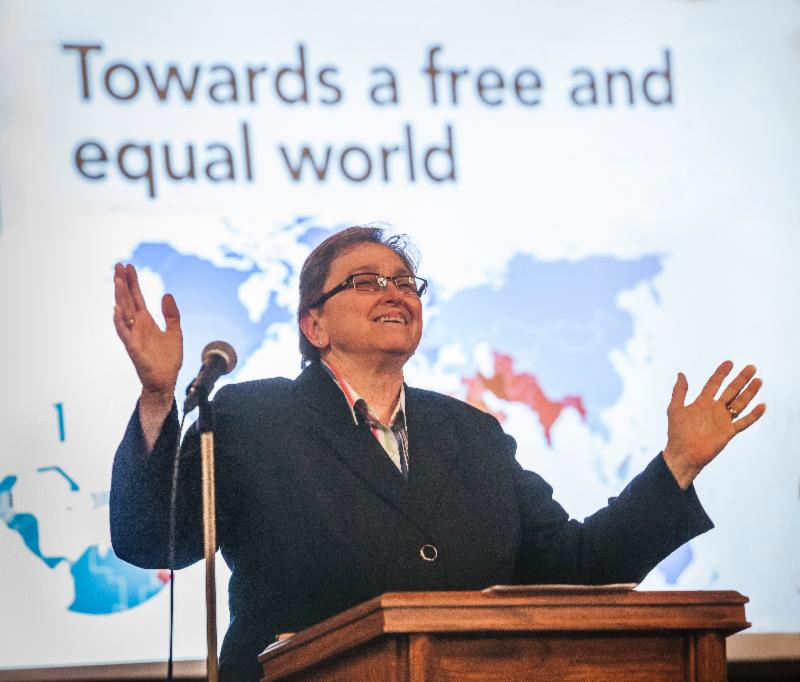 Towards a free and equal world