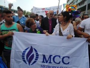 LA HABANA – JOURNEY AGAINTS HOMOPHOBIA AND TRANSPHOBIA - ECUMENICAL BLESSING OF LOVE IN PAVILION CUBA 2
