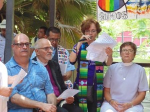 LA HABANA – JOURNEY AGAINTS HOMOPHOBIA AND TRANSPHOBIA - ECUMENICAL BLESSING OF LOVE IN PAVILION CUBA