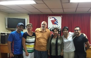 MATANZAS – VISIT TO KAIRÓS - MEETING WITH THE OFFICER OF RELIGIOUS AFFAIRS OF THE COMMUNIST PARTY IN MATANZAS 2