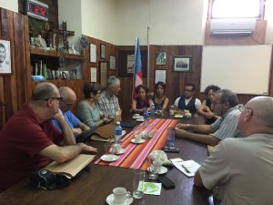 OFFICIAL VISIT TO THE THEOLOGICAL EVANGELICAL SEMINARY OF MATANZAS