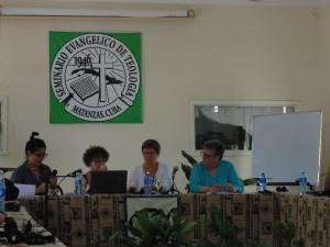 The team in Cuba