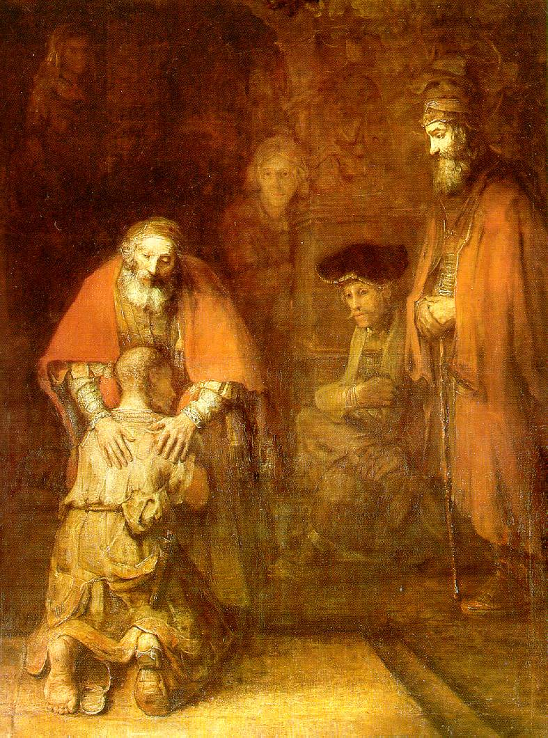 The Return of the Prodigal Son by Rembrandt Harmenszoon van Rijn