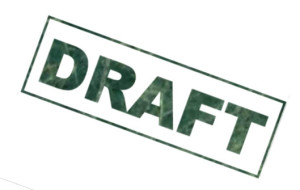 Click to read the draft.