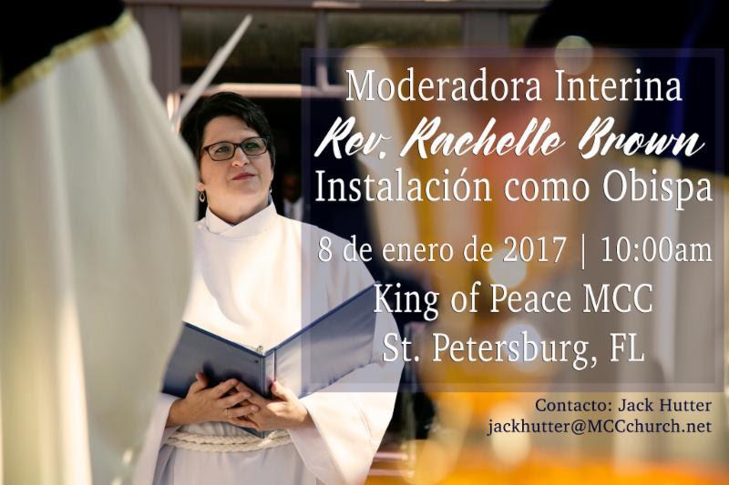 Instalación como Obispo de la Moderadora Interina - Instalación como Obispo de la Moderadora Interina