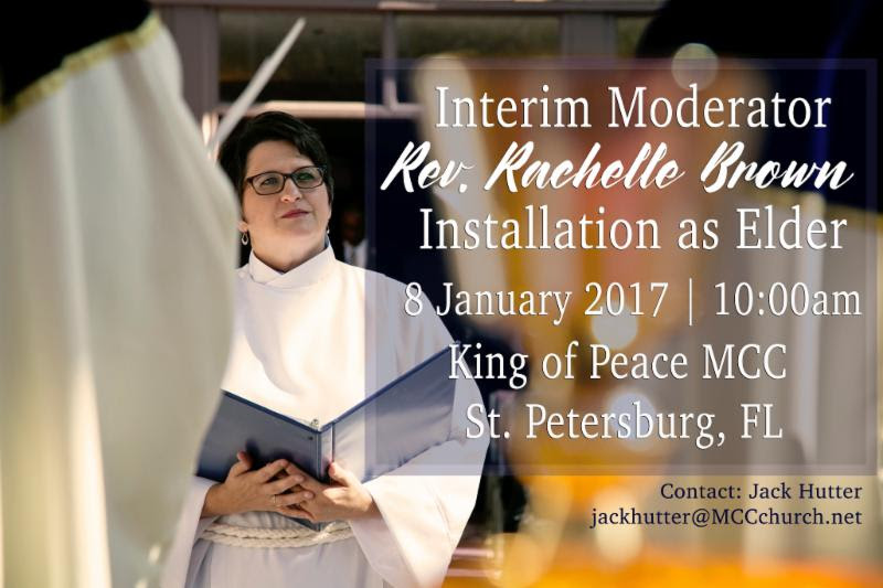 Interim Moderator Elder Installation