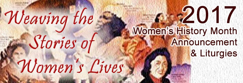 2017 womens history month - Women's History Month