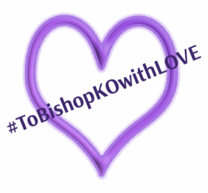 ToBishopKOwithLove 300x278 - Hearing to Start for Karen Oliveto as First Out Gay Bishop in Methodist Church