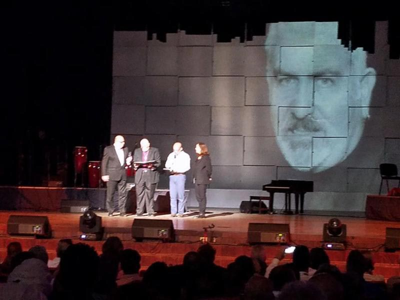 Troy Speech on Stage - Speech delivered by Rev. Elder Troy Perry, MCC Founder On the occasion of receiving Cuba's CENESEX Award