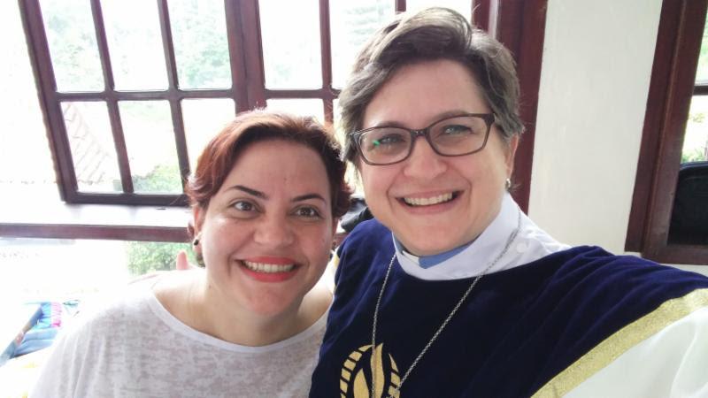 Ana Ester Pádua Freire and Rev. Elder Rachelle Brown - Moderator's Circle Jun 2017: Celebrating MCC Churches