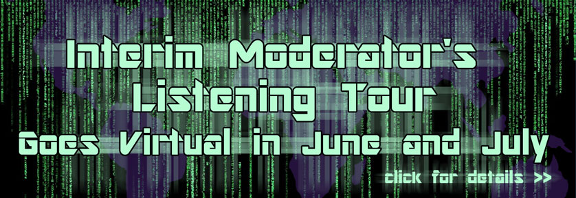 Virtual Listening Tour - Listening Tour Goes Virtual in June and July