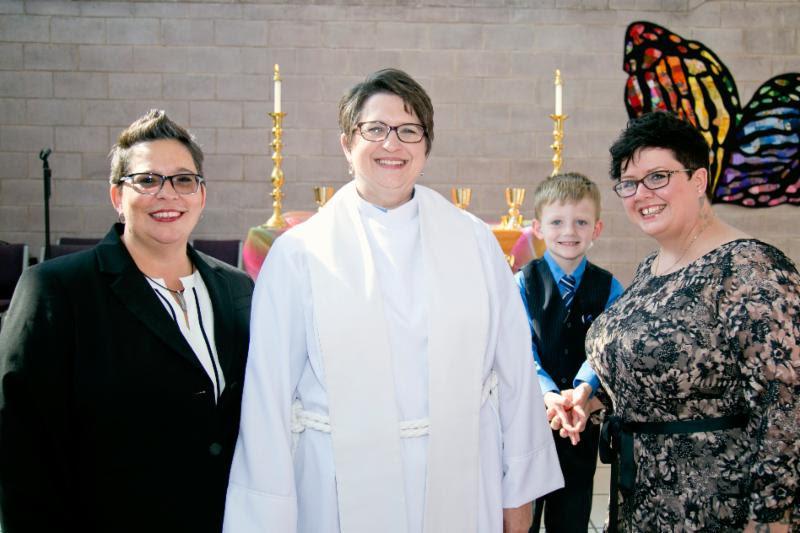 Interim Moderator Blessing - Headline News - The Advocate Interview, Rev. Ackerman Tribute