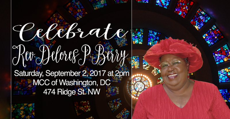 Announcing Rev. Delores P. Berrys Memorial Service - Celebrating the Life of Rev. Delores P. Berry